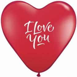 Latex Q15 5 Stuks I Love You Ballonnen